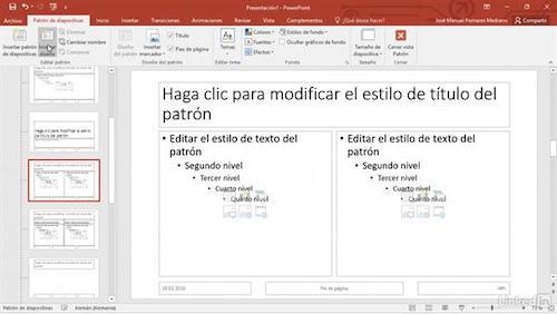 Barra de herramientas-powerpoint