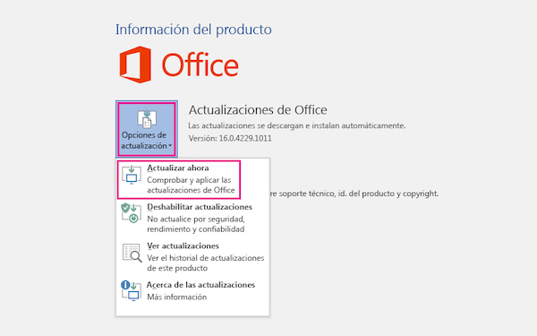 actualizar ultima version power point